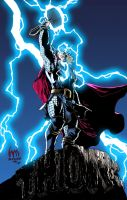 The Mighty Thor Colored by xXNightblade08Xx