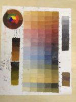 Color Theory Chart by koiwaterlilies