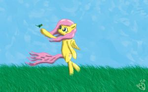 Fluttershy (Speed Art) by MrSmiles14