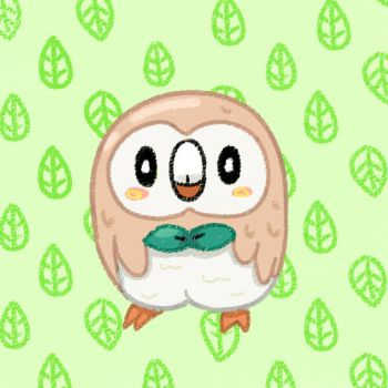 Rowlet by mellowmargarine