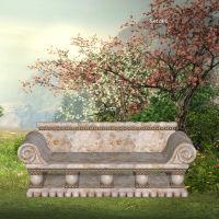 Benches by oldhippieart