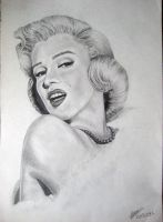 Marilyn Monroe by jayiria
