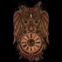 Steampunk Owl by Atatos by Design-By-Humans