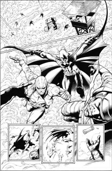 Batman and Robin 20, page 12 by MarkIrwin