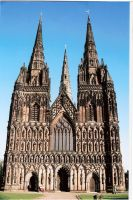 lichfield cathedral by kevisbrill