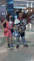 me as ventus with bioshock keyblade 7 by Roxas-Ven-Cosplayer