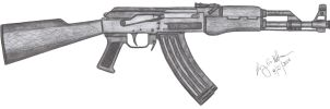 AK-47 by CzechBiohazard