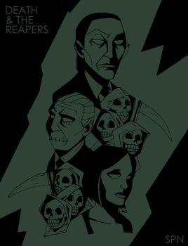Death and the Reapers - SPN by LamechO