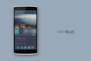 Navy Blue Theme by marcco23