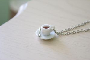 Dainty Teacup Necklace by foowahu-etsy