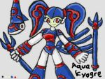 Aqua Kyogre Reference Sheet by SurgeCraft