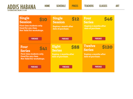 Addis Habana- Prices Page by Azadoroz