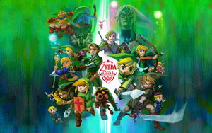 The Legend of Zelda 25th Anniversary Wallpaper by Blair3232