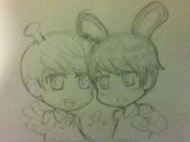 MinWook Doodle by CheekyFlower