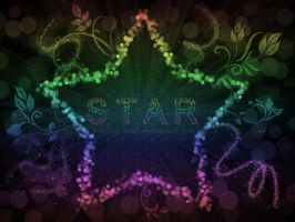 .: Star Lights Wallpaper :. by Waiting-Wish