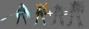 Vocaloid Mechas-wip by PursuerOfDarkness
