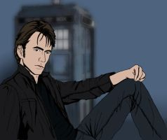 The 10th Doctor by Jafean