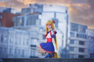 Pretty Sailor V by LoveSenshi