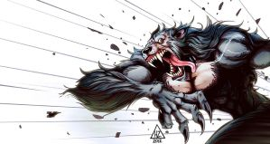 Werewolf Color by HedwinZ89