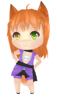 [MMD]Chibi Ally [+DL] by Amy-ChanNyah
