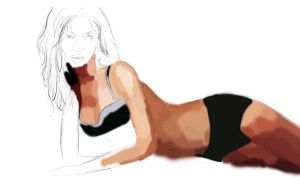 Rosie HW progress 2 by 69ingChipmunkzz