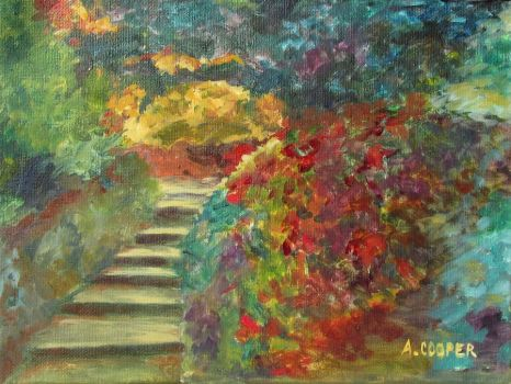Stone Steps by AnneCooper