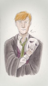 Barty Crouch Junior by SweeneyLestrange