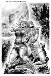 Red Sonja Unchained #04 Cover by wgpencil