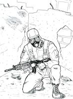 Chemical soldier by captblitzdawg