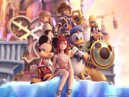 Kingdom Hearts wallpaper by TheKingdomHearts-FC