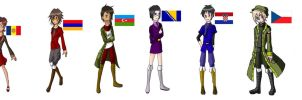 Hetalia OCs part 1 by Loveylove