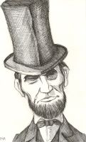 Stovepipe Lincoln - Unfinished by Colour-Me-Deranged