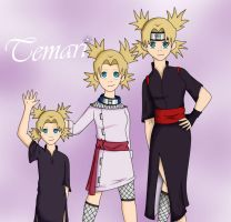 Stages - Temari by zutarafan4