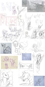 Things I Did Finish (mostly) by I-am-knot