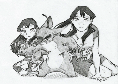 Fight for His Ohana by Kiki564