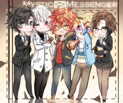 Mystic Messenger by CuteNikeChan