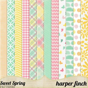 Sweet Spring Patterns by harperfinch