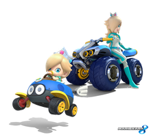 Mario Kart 8 - Cosmic Princess by Legend-tony980