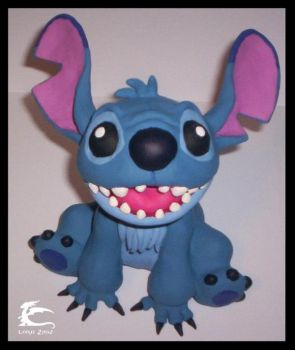 Stitch Sculpture by lordzasz
