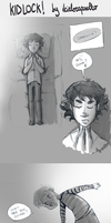 Kidlock. (thinking) by ilcielocapovolto