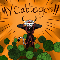 MY CABBAGES. by Kiptay