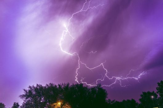 Stormy Night by parkertinsley