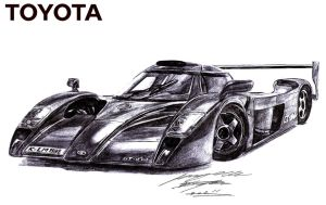 Toyota GT One Road Car by toyonda