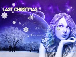 Wallpaper Christmas Taylor Swift by AnnieSerrano