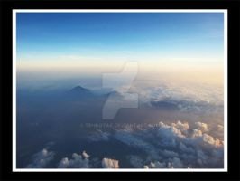 mountains and clouds by tehKOTAK