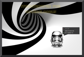 Stormtrooper for Covergloobus by gabriela2400