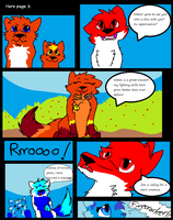 Hero Comic page 3 by Obsidianthewolf
