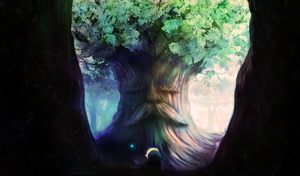 Whispers of the Great Deku Tree by SinsValentine