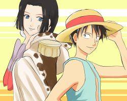 Luffy and Boa Hancock by taichikun14