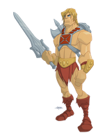 He-man by BurningEyeStudios